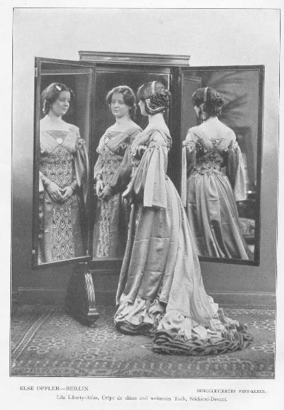 Abb. 8 Else Oppler: Festkleid, 1903/1904, s. Anm. 16.