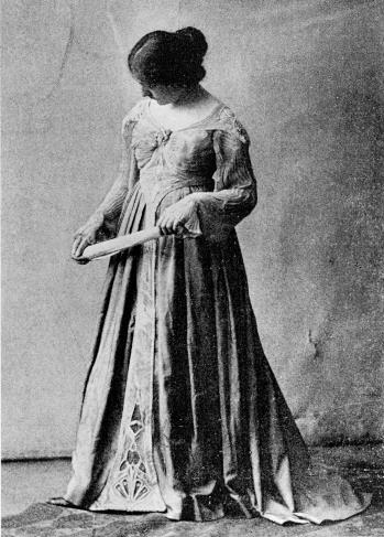 Abb. 4. Else Oppler: Gesellschaftskleid, 1901/1902, s. Anm. 10.