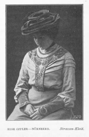 Abb. 3. Else Oppler: Straßenkleid, 1901/1902, s. Anm. 10.