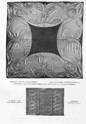 Abb. 9. Else Oppler: Tischdecke und Serviette, 1903/1904, s. Anm. 17.