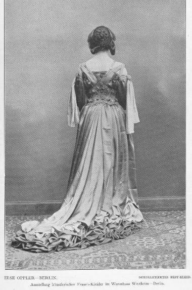 Abb. 7 Else Oppler: Festkleid, 1903/1904, s. Anm. 16.