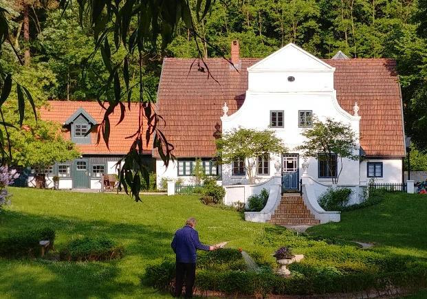 Abb. 2. Heinrich Vogelers Wohn- und Atelierhaus im Mai 2018.