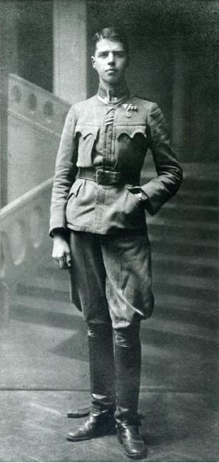 Kuno Grohmann als Soldat